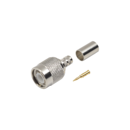 Conector TNC macho de crimp para cables RG-58/U, RG-142/U.